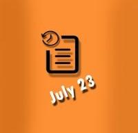 گاه شمار 23 ژوئیه در زندگی الویس پریسلی