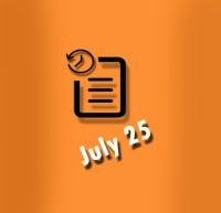 گاه شمار 25 ژوئیه در زندگی الویس پریسلی
