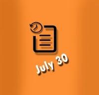 گاه شمار30 ژوئیه در زندگی الویس پریسلی