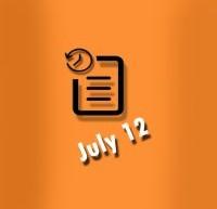 گاه شمار 12 ژوئیه در زندگی الویس پریسلی