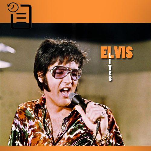 الویس در حال تمرین در استودیو MGM در کالور سیتی جهت فیلم مستند That's The Way It Is  ژوئیه 1970