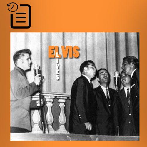 الویس به همراه  برادران بلک وود  در تالار الیس چنین روزی 27 ژوئیه 1956