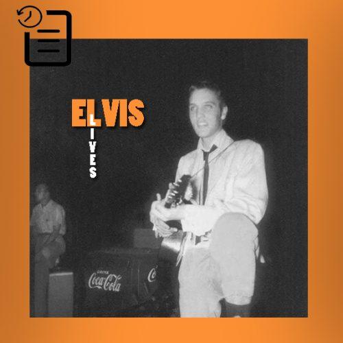 الویس در اولین اجرای زنده حرفه ای خود در اورتون پارک شل، ممفیس چنین روزی 30 ژوئیه 1954