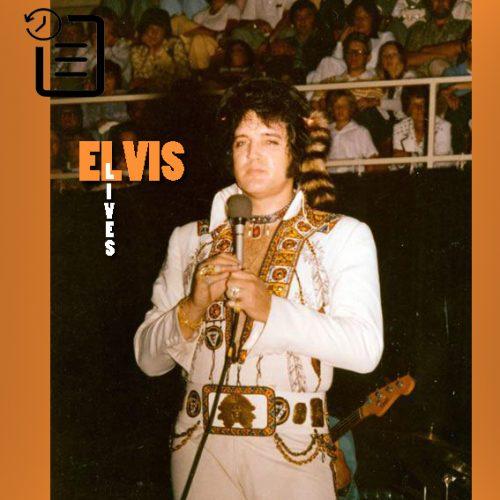 الویس در مرکز اجتماعات، اشویل، کارولینای شمالی چنین روزی 22 ژوئیه 1975