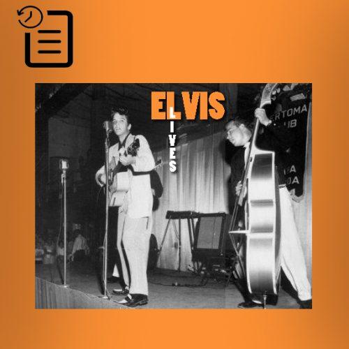 الویس در اسلحه خانه فورت هومر هسترلی ، تمپا، فلوریدا چنین روزی 31 ژوئیه 1955
