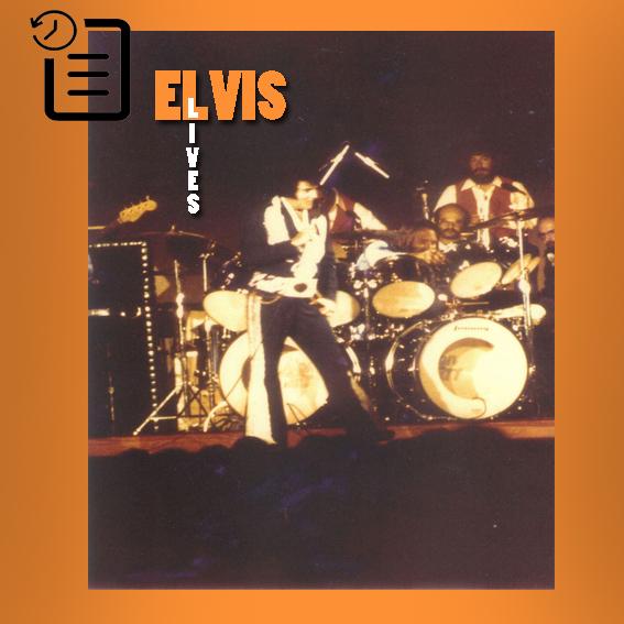 الویس در اجرای ساعت 2:30 در مرکز کنوانسیون بین المللی، آبشار نیاگارا، نیویورک چنین روزی 13 ژوئیه 1975