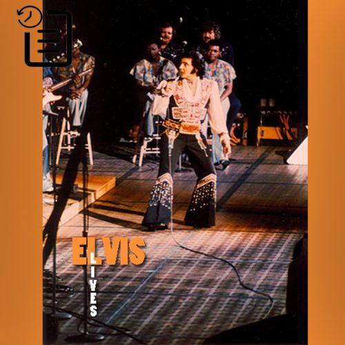 الویس در سالن بزرگ کلیولند ، ریچفیلد، اوهایو چنین روزی 18 ژوئیه 1975