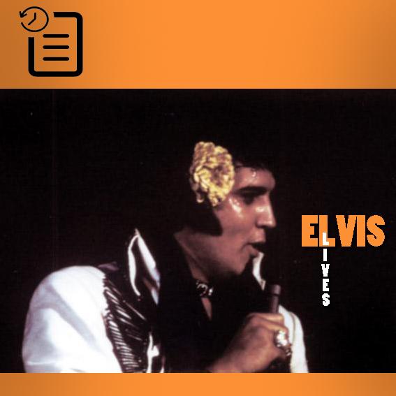 الویس در اجرای ساعت 8:30 شب در مرکز کنوانسیون بین المللی، آبشار نیاگارا، نیویورک چنین روزی 13 ژوئیه 1975