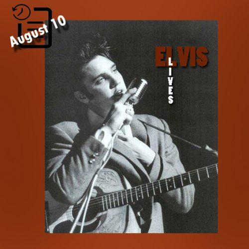 الویس در سالن تئاتر فلوریدا، جکسون ویل، فلوریدا چنین روزی 10 آگوست 1956