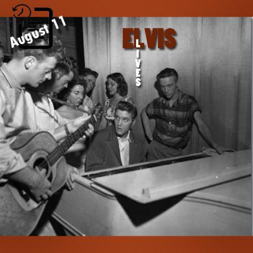 الویس در سالن تئاتر فلوریدا، جکسون ویل، فلوریدا روزهای 10 و 11 آگوست 1956