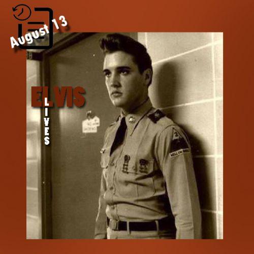 الویس در بیمارستان متدیست ممفیس چنین روزی 13 آگوست 1958