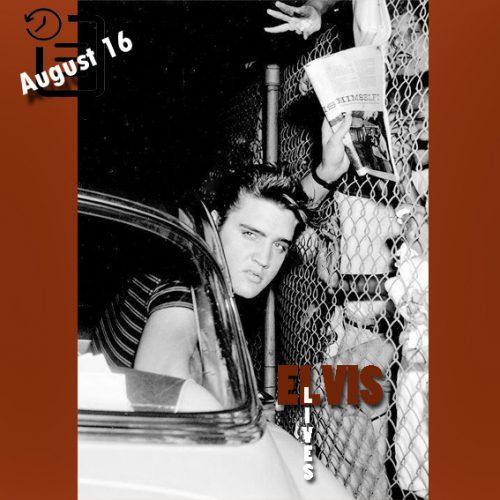 الویس در فرودگاه لس آنجلس چنین روزی 16 آگوست 1956
