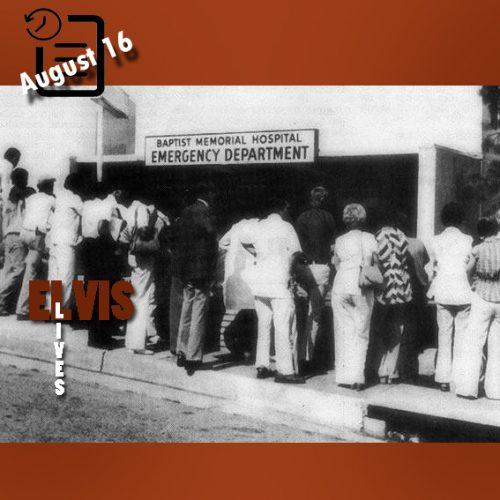 بیمارستان باپتیست مموریال در چنین روزی 16 آگوست 1977