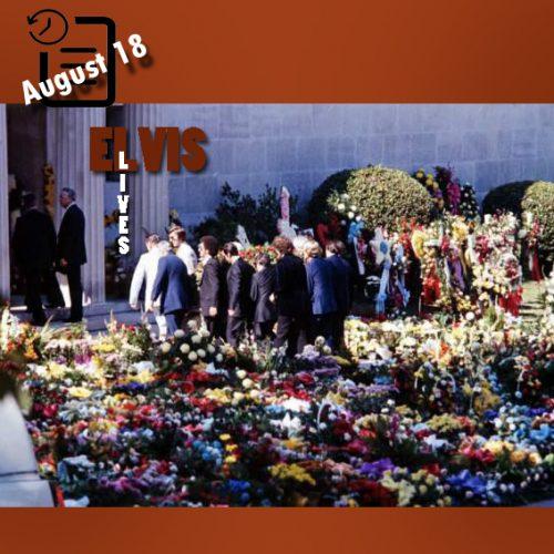 مراسم تشییع جنازه الویس پریسلی چنین روزی 18 آگوست 1977