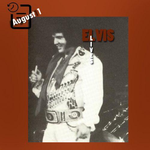 الویس در سالن بزرگ همپتون ، همپتون، ویرجینیا چنین روزی اول آگوست 1976