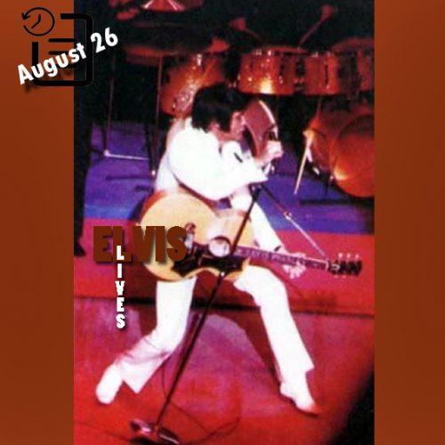 الویس در لاس وگاس چنین روزی 26 آگوست 1969