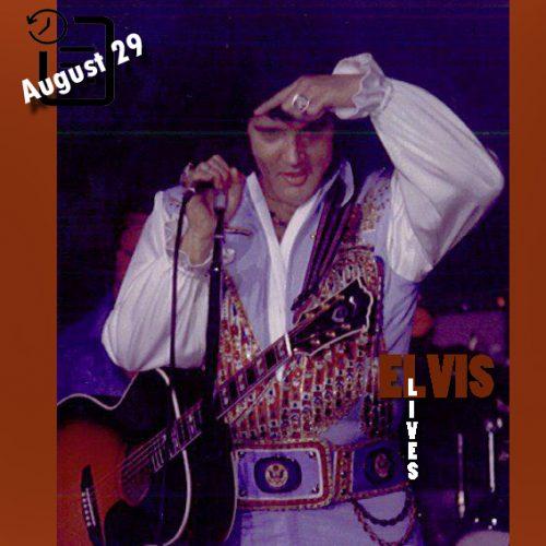 الویس در سالن شهرداری شهر موبیل آلاباما چنین روزی 29 آگوست 1976