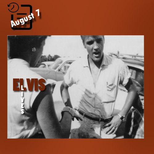 الویس در ماگنولیا گاردن، هوستون چنین روزی 7 آگوست 1955