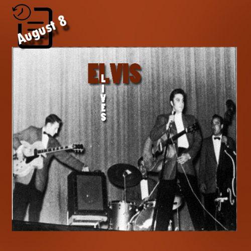 الویس شب در سالن شهرداری ، اورلاندو فلوریدا  چنین روزی 8 آگوست 1956