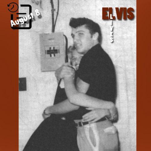 الویس در ساختمان میفیر ، تایلر، تگزاس چنین روزی 8 آگوست 1955