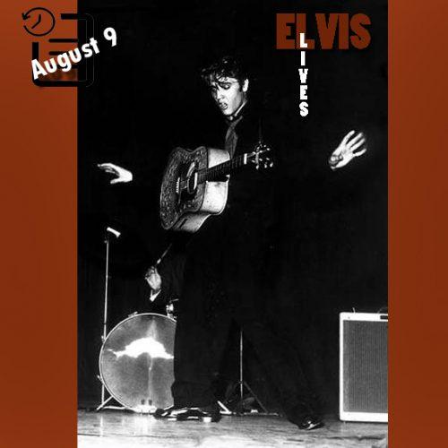 الویس در دیتونا بیچ، فلوریدا چنین روزی 9 آگوست 1956