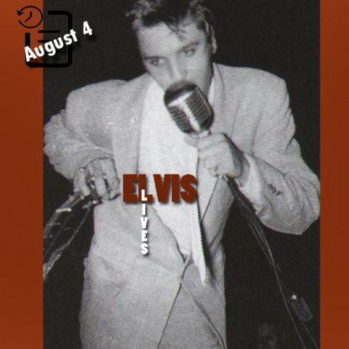 الویس در سالن تئاتر المپیک، میامی، فلوریدا چنین روزی 4 آگوست 1956