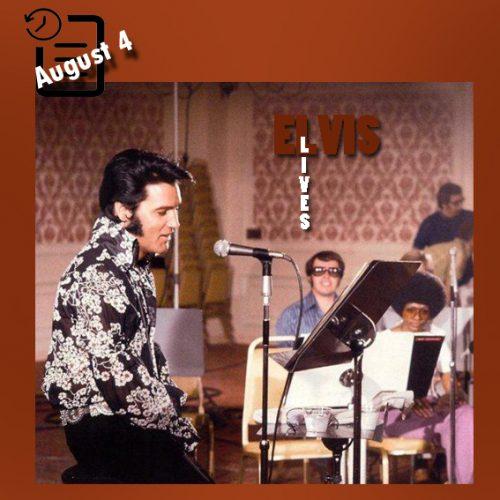 الویس در سالن تئاتر المپیک، میامی، فلوریدا چنین روزی 4 آگوست 1970