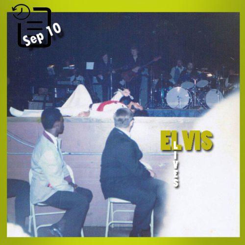 الویس در سالن کیل ، سنت لوئیس، میسوری چنین روزی 10 سپتامبر 1970