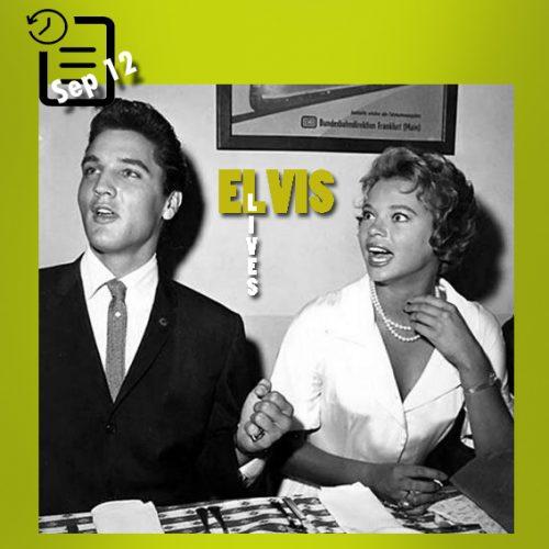 الویس و ژولیت پراوز،همبازی اش در فیلم G.I. Blues چنین روزی 12 سپتامبر 1960