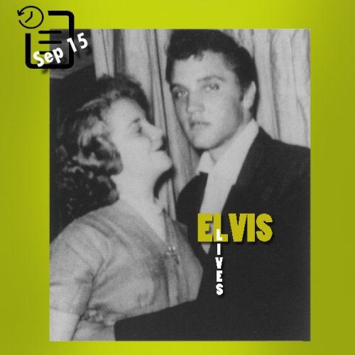 الویس در سالن آمریکن لژیون ، روناک ویرجینیا  چنین روزی 15 سپتامبر 1955