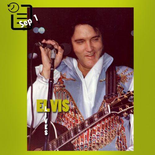 الویس در سالن بزرگ، جکسون ویل، فلوریدا چنین روزی اول سپتامبر 1976
