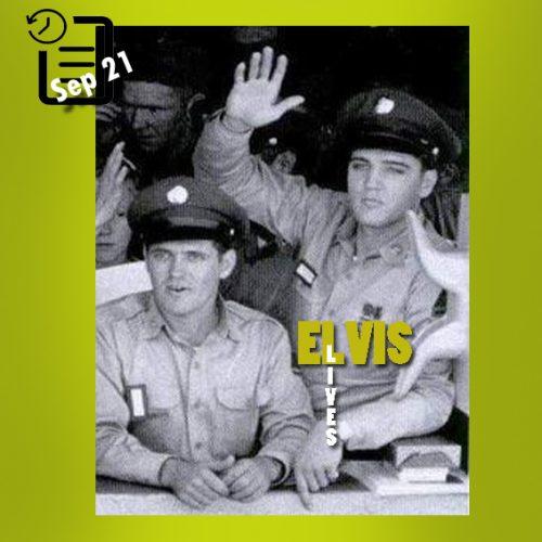 الویس و چارلی هاج سپتامبر 1958