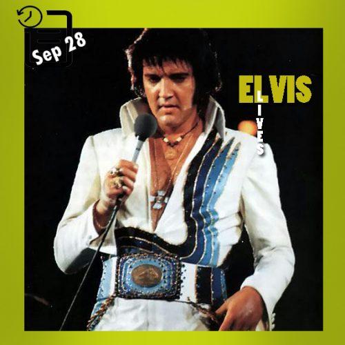 الویس در دانشگاه مریلند کول فیلدهاوس، کالج پارک، مریلند چنین روزی 28 سپتامبر 1974