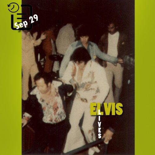 الویس در ورزشگاه المپیا ، دیترویت، میشیگان چنین روزی 29 ستامبر 1974