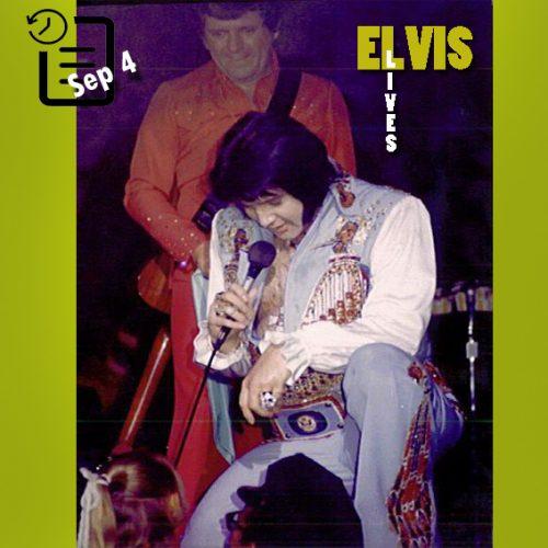 الویس در مرکز اجتماعات، لیکلند فلوریدا چنین روزی 4 سپتامبر 1976