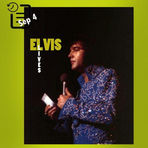 الویس در لاس وگاس چنین روزی 4 سپتامبر 1972