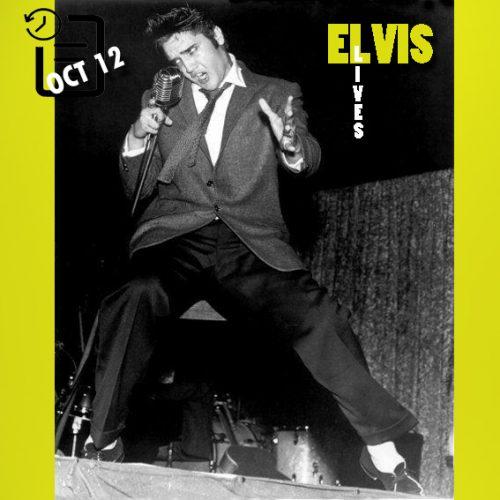الویس در سالن بزرگ هارت او تگزاس ، ویکو، تگزاس چنین روزی 12 اکتبر 1956