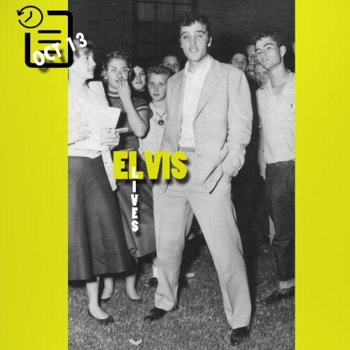 الویس در آماریلو، تگزاس چنین روزی 13 اکتبر 1955