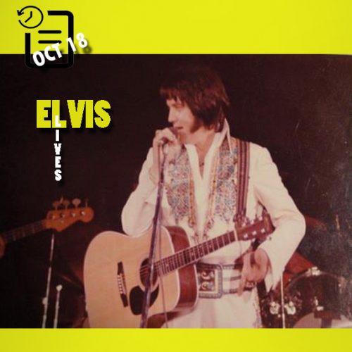 الویس در سالن سرپوشیده، سو فالز، داکوتای جنوبی چنین روزی 18 اکتبر 1976