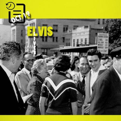 الویس پس از تبرئه شدن در دادگاه چنین روزی 19 اکتبر 1956