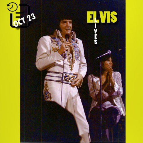 الویس در سالن بزرگ، ریچفیلد، اوهایو چنین روزی 23 اکتبر 1976