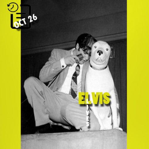 الویس در سالن سیویس، سان فرانسیسکو، کالیفرنیا چنین روزی 26 اکتبر 1957