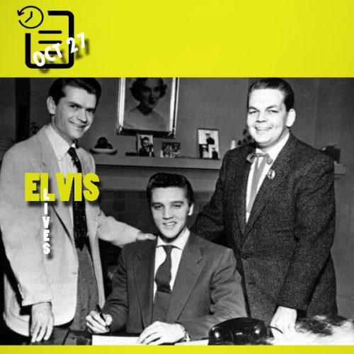 سم فیلیپس (مدیر سان رکوردز) ، الویس ،  و باب نیل