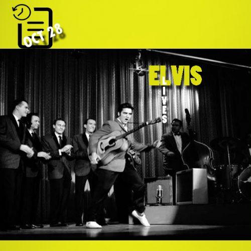 الویس در نمایش تلویزیونی اد سالیوان چنین روزی 28 اکتبر 1956