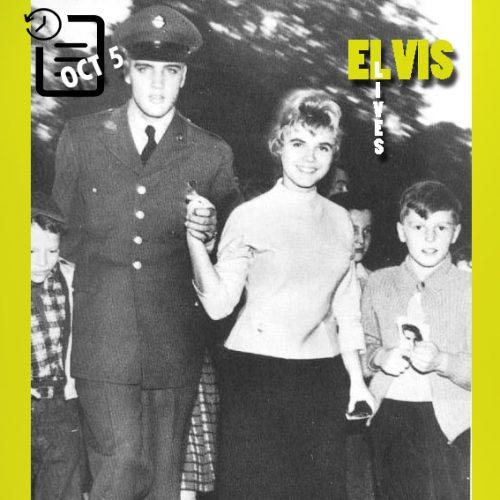 الویس و مارگیت بیورگین در آلمان چنین روزی 5 اکتبر 1958