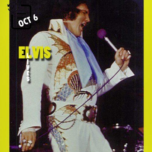 الویس در اجرای ساعت 2:30 بعد از ظهر در دانشگاه دیتون آرنا، شهر دیتون اوهایو چنین روزی 6 اکتبر 1974