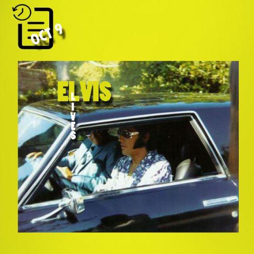 الویس در اتومبیل اشتوتز بلک هاوک چنین روزی 9 اکتبر 1970