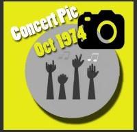 عکسهای کنسرتهای الویس پریسلی در اکتبر 1974