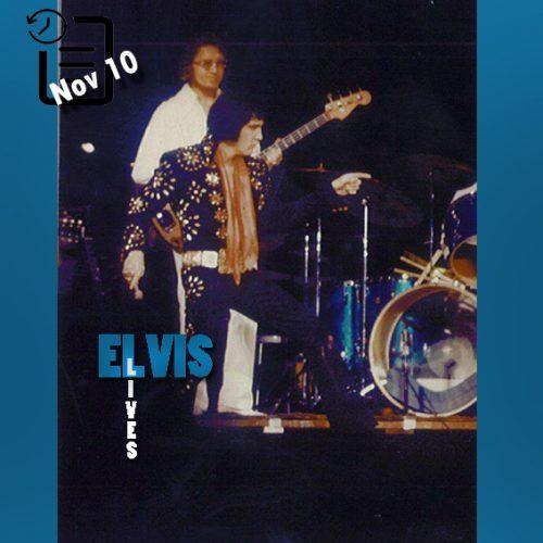 الویس در باغ بوستون گاردن در شهر بوستون ایالت ماساچوست چنین روزی 10 نوامبر 1971