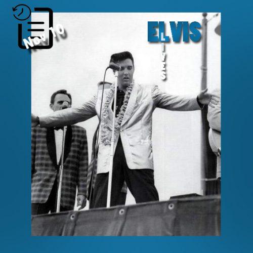 الویس در استادیوم شهر هونولولو در هاوایی چنین روزی 10 نوامبر 1957